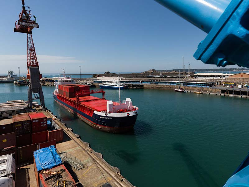 solent stevedores wins 9 year contract at the Ports of Jersey - image credit: Greg England