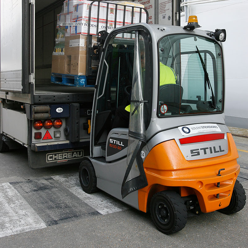still electric fork trucks cruise division southampton