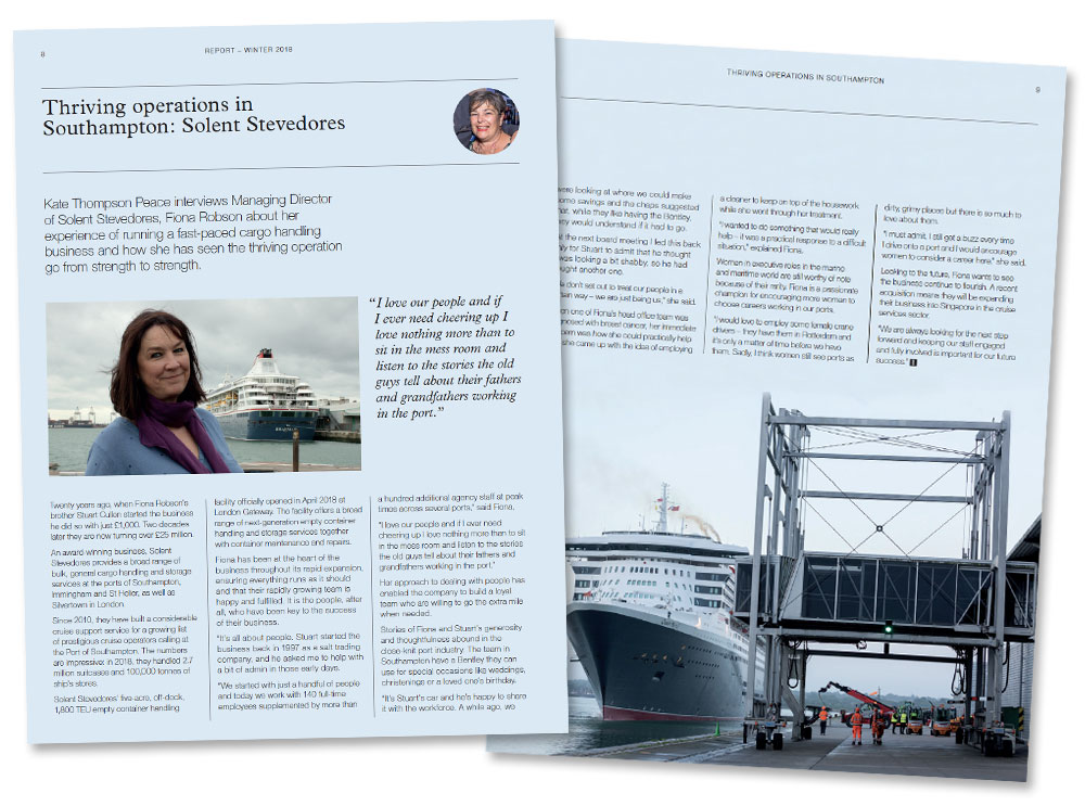 Latest news and announcements solent stevedores
