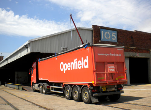 openfield at the port of southampton