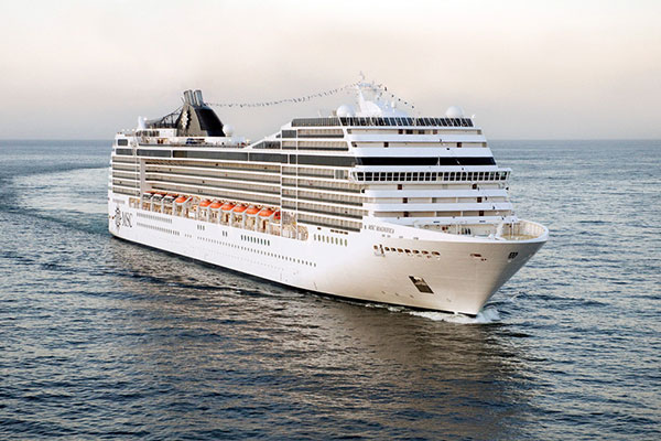 MSC Cruises contract extended until 2019