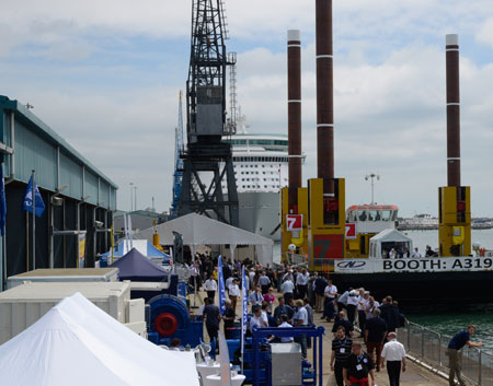 seawork at the Port of Southampton